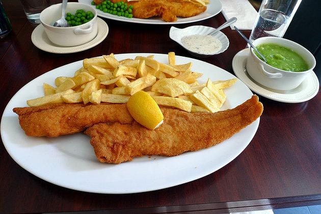 Fish Restaurant London W